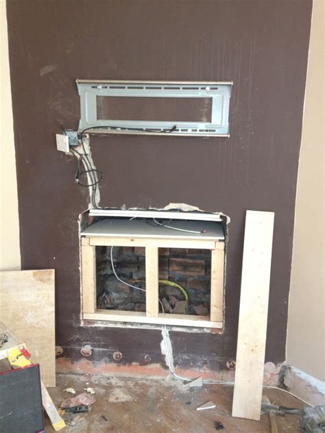 putting a tv in the bathroom gallery flush plasma tv in wall se plastering