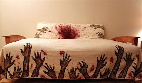 zombie bedding a bed set that will make you sleep with a