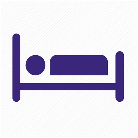 bed icon bed hospital ill in patient inpatient ip patient