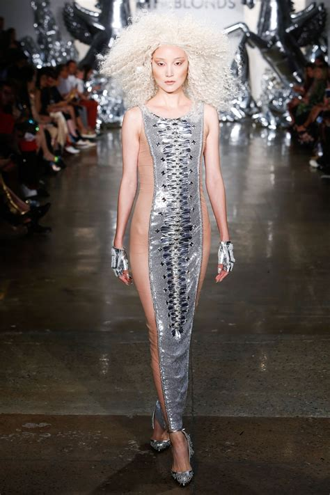 New York Fashion Now At The Va by New York Fashion Week The Blonds 2017 Image