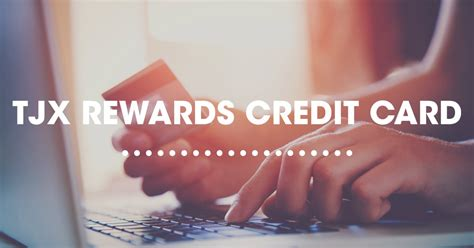 tjx rewards credit card