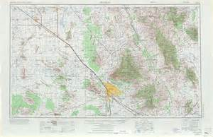 map of tuscon arizona tucson topographic maps az usgs topo 32110a1 at 1