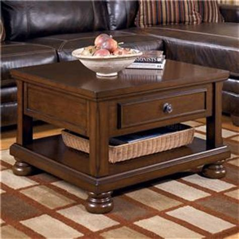 porter chairside end table signature design by ashley porter chairside end table
