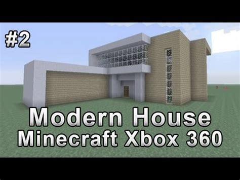 minecraft minimalist modern house xbox 360 minecraft modern house tutorial minecraft xbox 360 2 youtube