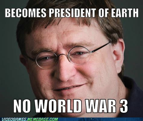 Gabe Newell Memes - quiet and red random images