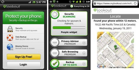 lookout app android best android apps for privacy protection and security android authority