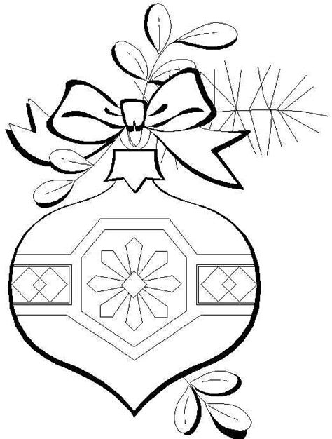 Christmas Ornament Coloring Pages Free Printable Coloring Pages Ornaments