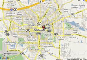 florida map tallahassee map of econo lodge tallahassee tallahassee