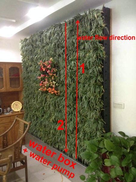 outdoor playground living wall planter plastic planter