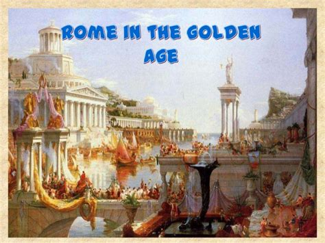 golden age of rome in the golden age