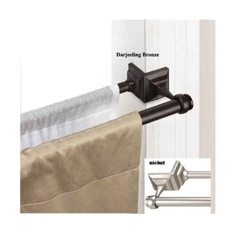 double tension curtain rod double tension rod this would be great for the apartment