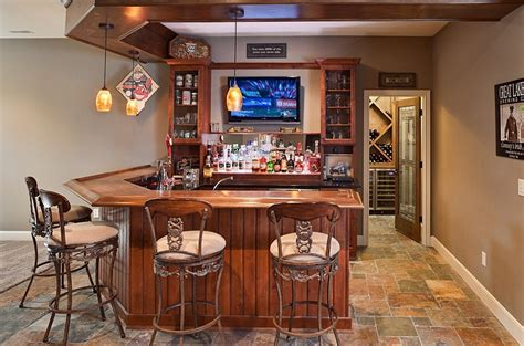Home Bar Ideas For Any Available Spaces Basement Bar Design Ideas Pictures