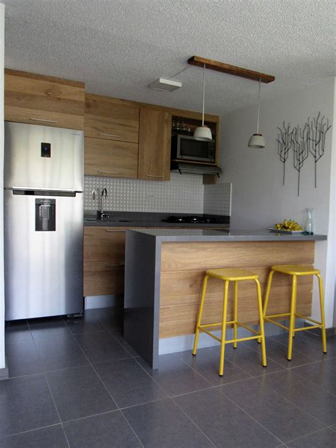 apartamento decoracion cocinas peque 241 as para apartamentos pequenas decorar 2018