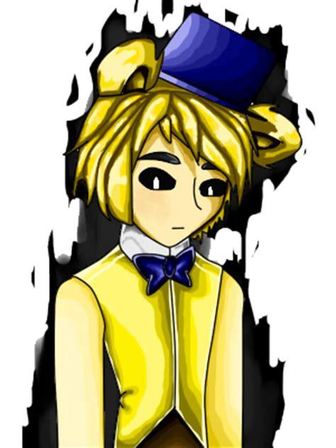 golden anime human freddy human golden freddy by vanessachibiamore on deviantart