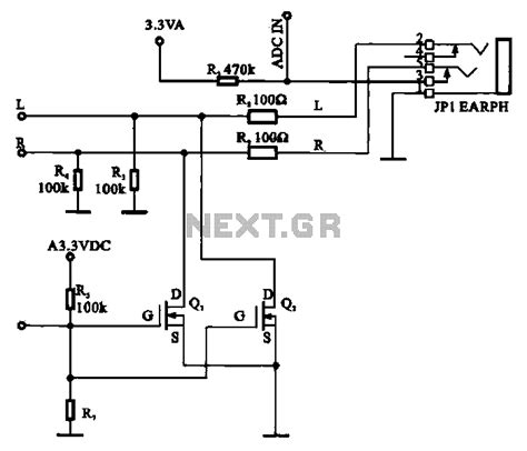 best fet transistor for audio gt audio gt vacuum gt fet used as a silencer headphone circuit l60528 next gr