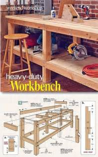 25 best ideas about workbenches on pinterest garage diy garage workbench plans