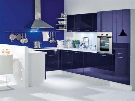 cuisine bleu nuit d 233 coration cuisine bleu