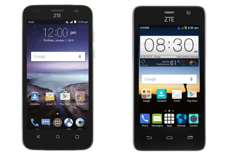 at t android phones zte launches budget friendly maven and sonata 2 smartphones for at t cricket wireless