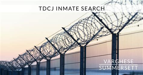 Department Of Criminal Justice Inmate Records Tdcj Inmate Search State Penitentiary Tdcj