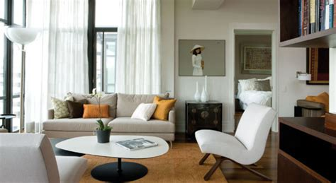 Condo Living Room Furniture | chic and modern condo living room furniture design