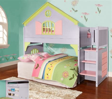 27 Best Images About Bunk Beds With Stairs On Pinterest Princess Bunk Bed