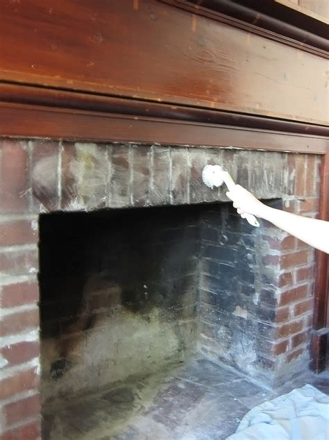 cleaning fireplace bricks archives the honeycomb home