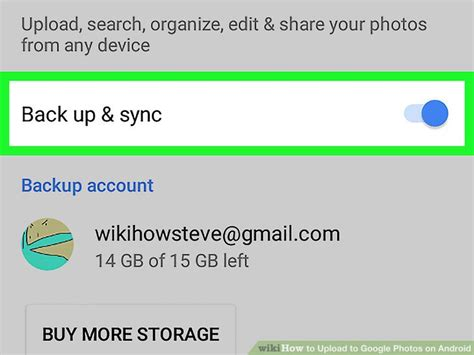 Google Images Upload Android | how to upload to google photos on android 12 steps