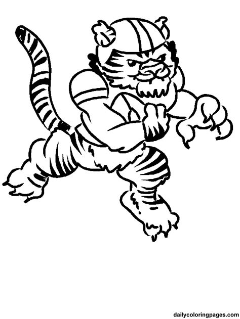 auburn football coloring pages auburn tigers football