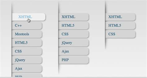 tutorial css menu vertical 40 excellent css3 menu tutorials smashingapps com