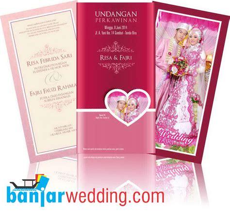 desain undangan pernikahan china undangan pernikahan pink elegan uc pe banjar wedding