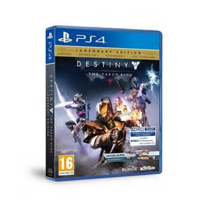 Destiny the taken king legendary edition ps4 game with vanguard