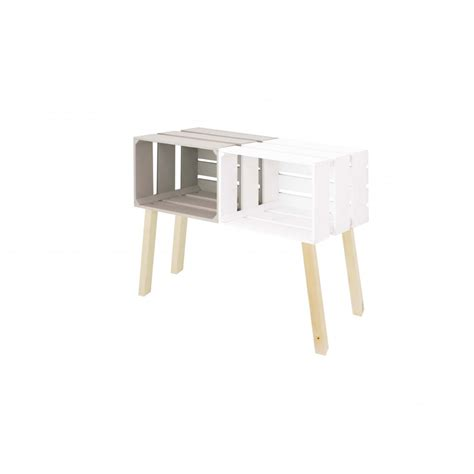 Commode Peinte by Commode Cr 232 Me Peinte Blanc T 234 Te De Lit