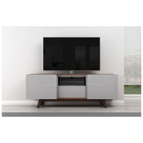 modern media cabinet tv stand furnitech ft70r 70 quot tv stand modern media cabinet w