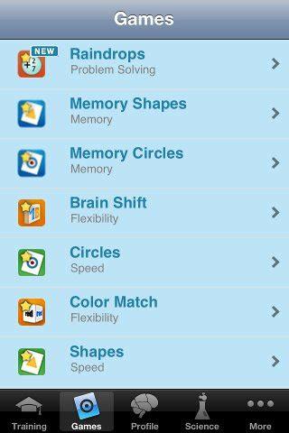 lumosity mobile app get mental with lumosity brain geekitdown