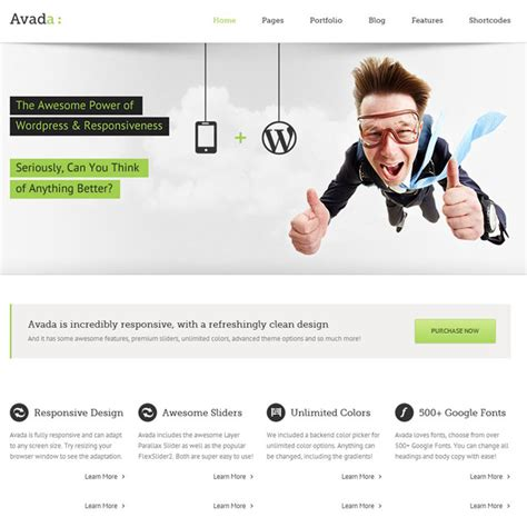 best avada themes 21 best responsive business themes november 2013