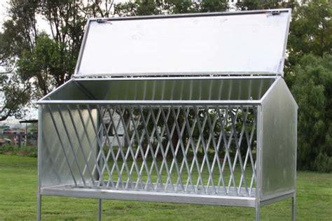 Hay Roof Racks by Stephen Irwin Paddock Hay Racks
