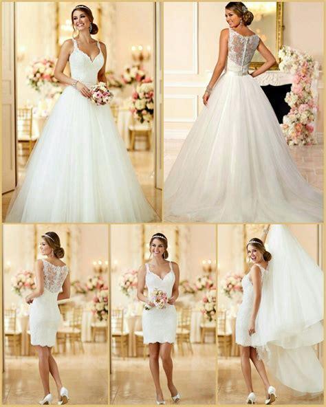 Stella York Bridal #6223 Convertible Wedding Gown Two