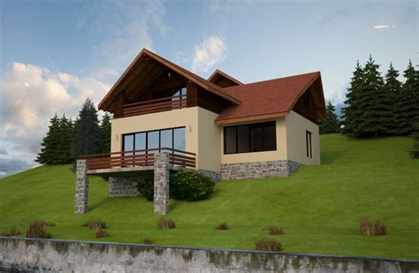 House Plans For Sloped Land Slope House Plans Functional Design
