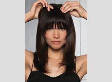 Clip-In Human Hair Fringe/ Bangs by hairdo – Wigs.com Layered Bob African American Hair