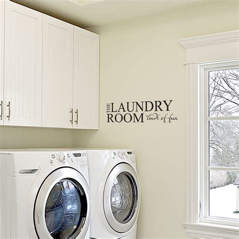 laundry room sticker wall the laundry room loads of wall decals