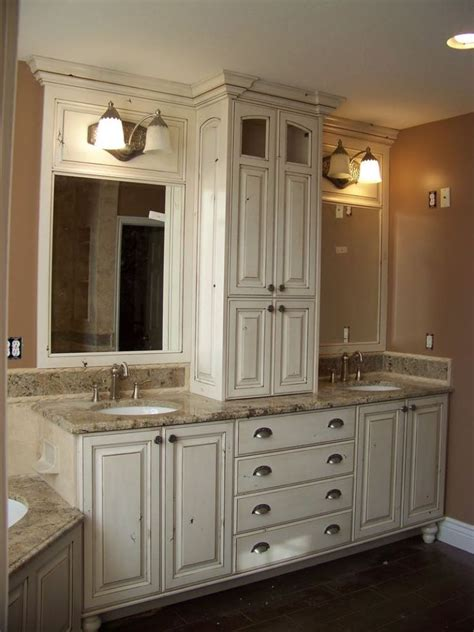 Bathroom Cabinet Designs - considerations for selecting bathroom countertop storage