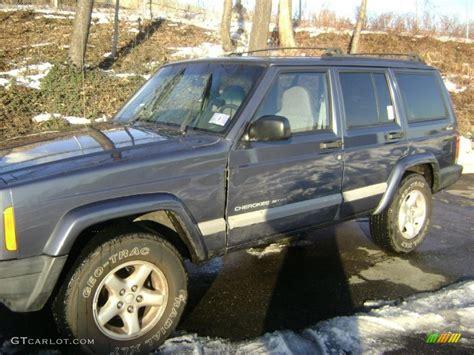2001 steel blue pearl jeep sport 4x4 42990414 gtcarlot car color galleries