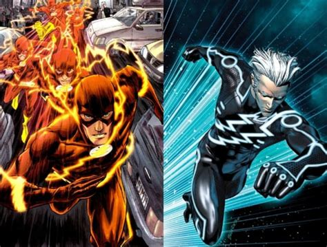 movie quicksilver vs flash hero battles the flash vs quicksilver moviepilot com