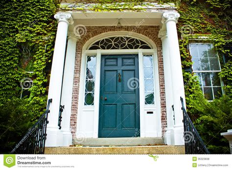 colonial style front doors front door royalty free stock photos image 35323838