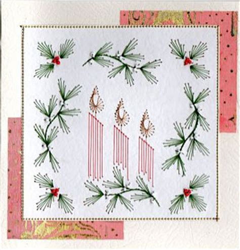 card stitch templates candles forum gallery stitching card of the