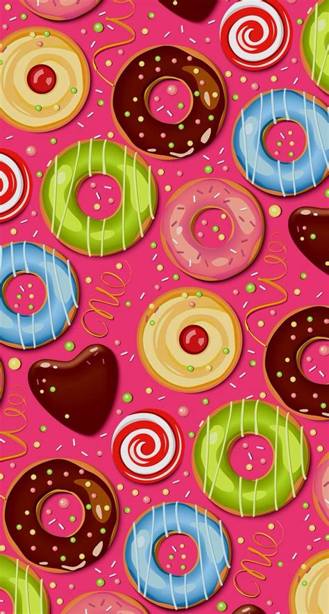 donuts iphone  iphone  pinterest donuts iphone