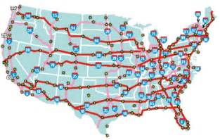 map united states highways may 2013 politicalgates