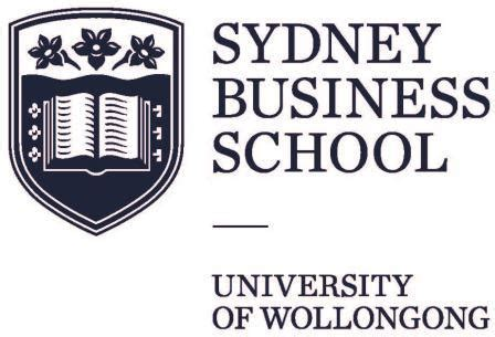 Sydney Business School Of Wollongong Mba gmaa corporate members sydney business school