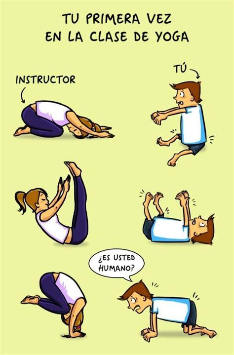 imagenes de yoga graciosos tu primer d 237 a de entrenamiento humor taringa