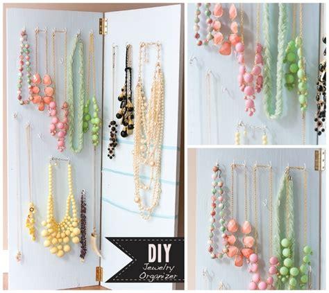make a jewelry holder 20 ideas to make diy jewelry holder stay organized